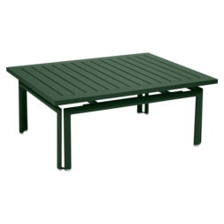 Costa 160x80 cm table garden metal table for 6 - Table basse 80x80 ...