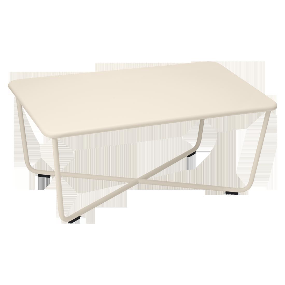 table basse croisette table basse en m tal pour salon de jardin. Black Bedroom Furniture Sets. Home Design Ideas