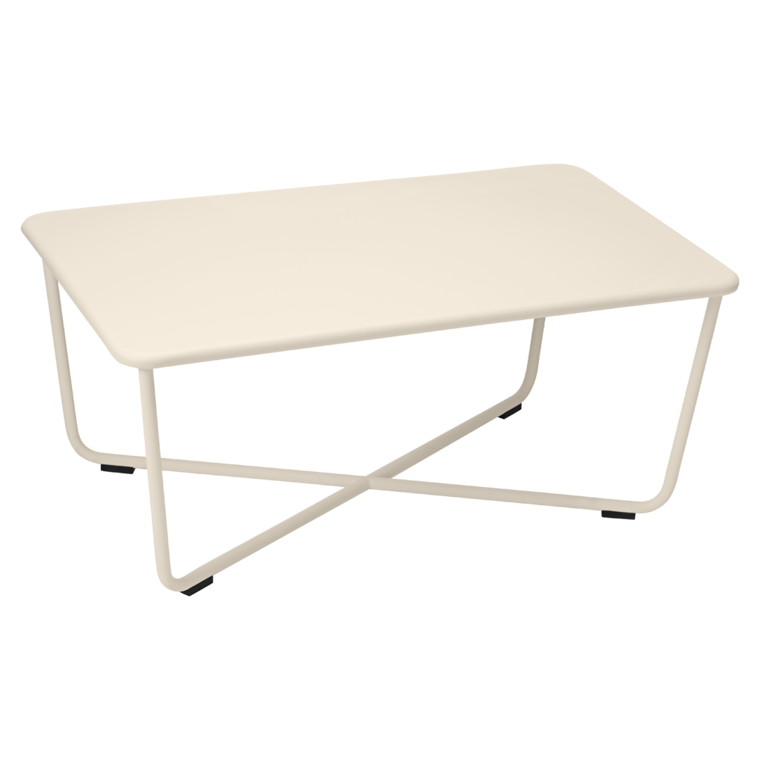 table basse croisette table basse en m tal pour salon de jardin. Black Bedroom Furniture Sets. Home Design Ideas