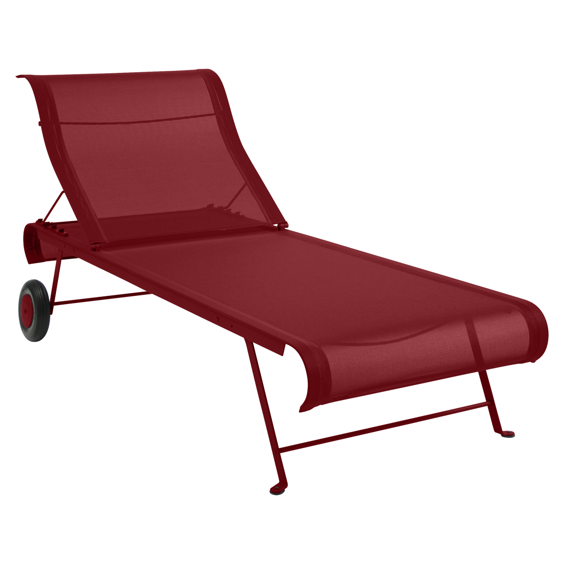 Dune sunlounger fabric chaise longue otf outdoor furniture - Chaise dune fermob ...