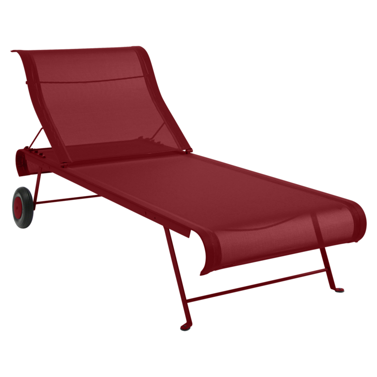 Dune sunlounger fabric chaise longue OTF outdoor furniture