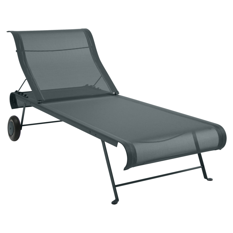 Dune sunlounger fabric chaise longue otf outdoor furniture for Toile de chaise longue