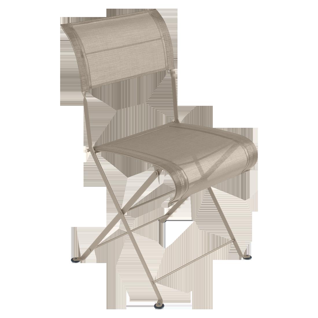 Chaise Dune Premium, chaise de jardin en toile