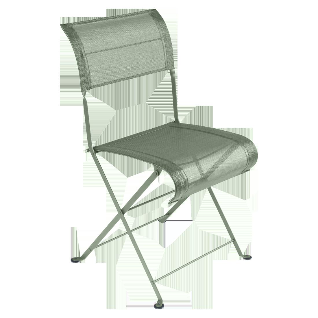 chaise fermob en toile, chaise de jardin fermob, chaise en toile verte, chaise de jardin verte