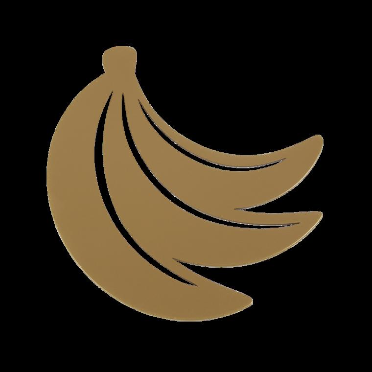 Untersetzer Banane Gold Fever