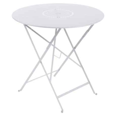 table ronde metal, table ronde jardin, table ronde terrasse, table de jardin, table blanche