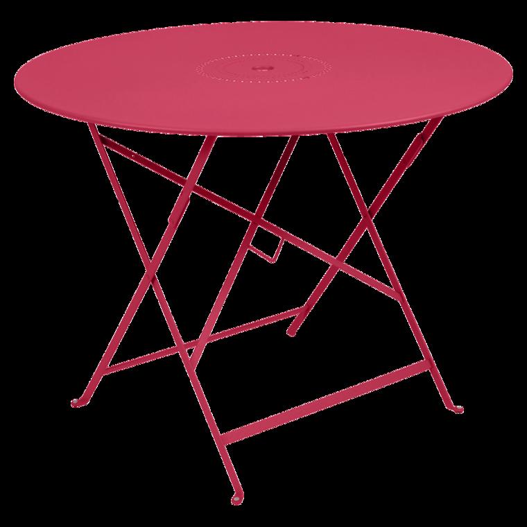 Tisch Floreal 96 Cm Runder Gartentisch Klappbar Gartenmobel