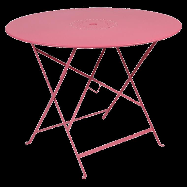 table flor al ronde 96 cm table de jardin table pliante jardin. Black Bedroom Furniture Sets. Home Design Ideas