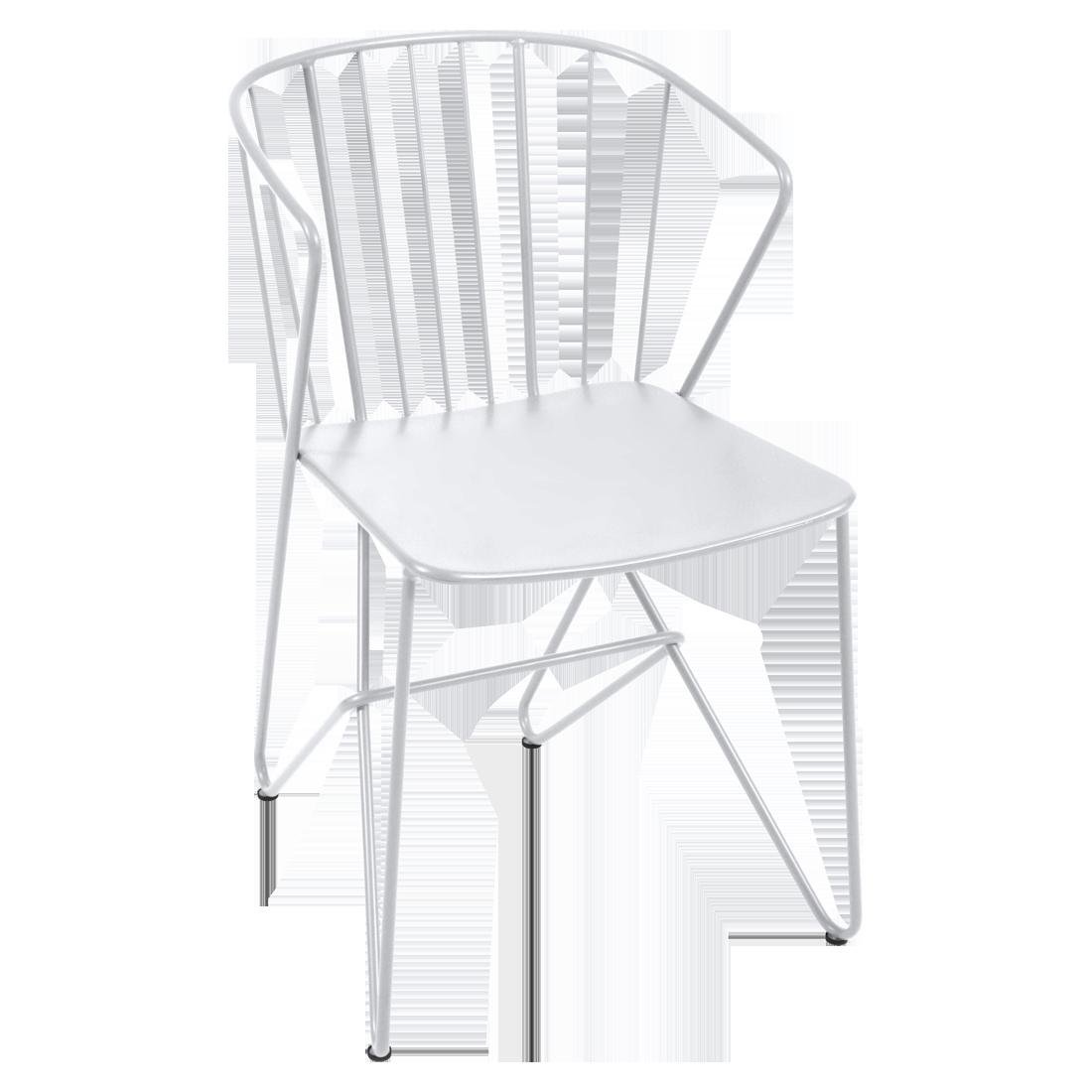 chaise metal, chaise original, chaise design, chaise de jardin, chaise blanche