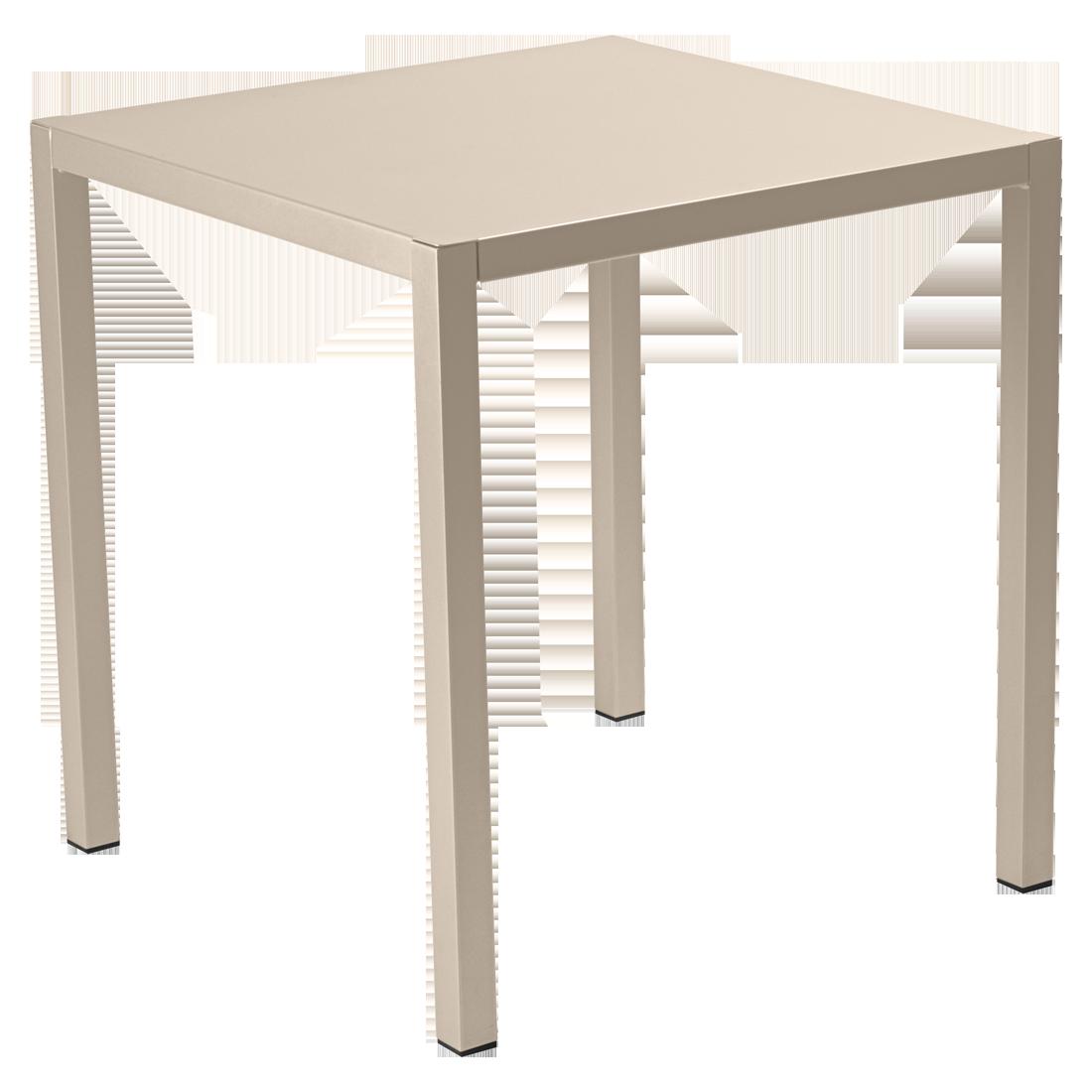 table 70x70 inside out table de jardin design. Black Bedroom Furniture Sets. Home Design Ideas
