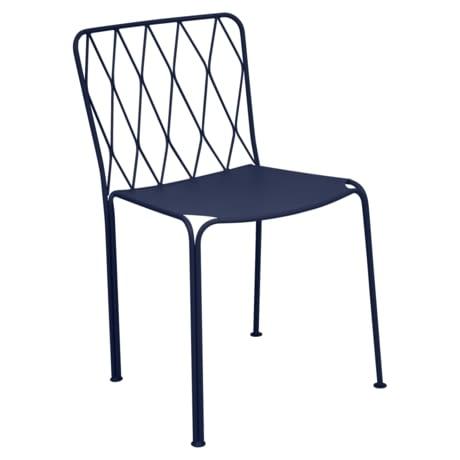 chaise metal, chaise de jardin, chaise design, chaise bleu, chaise terrasse