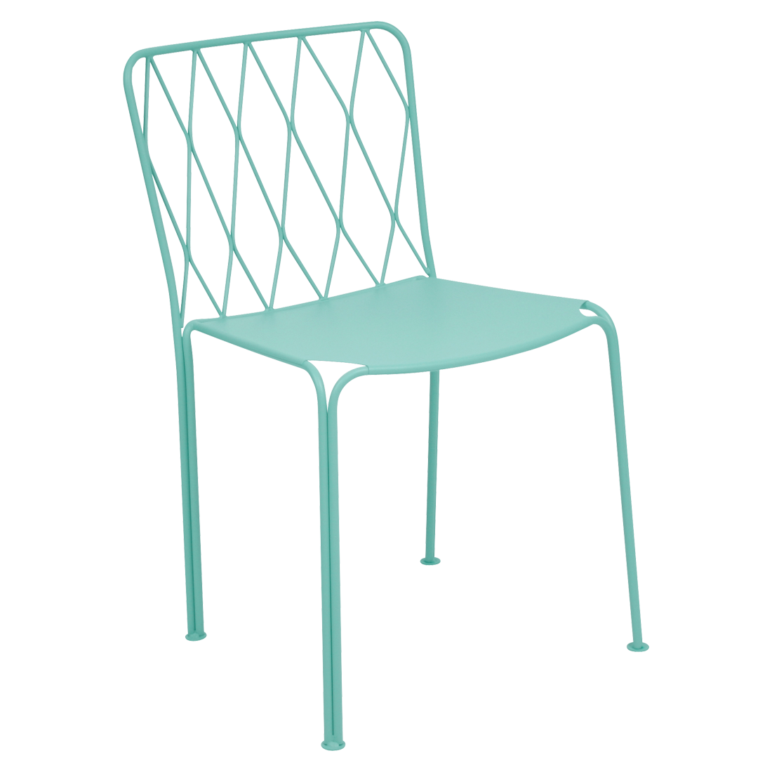 Kintbury chair metal chair outdoor furniture - Chaises en polycarbonate transparent ...
