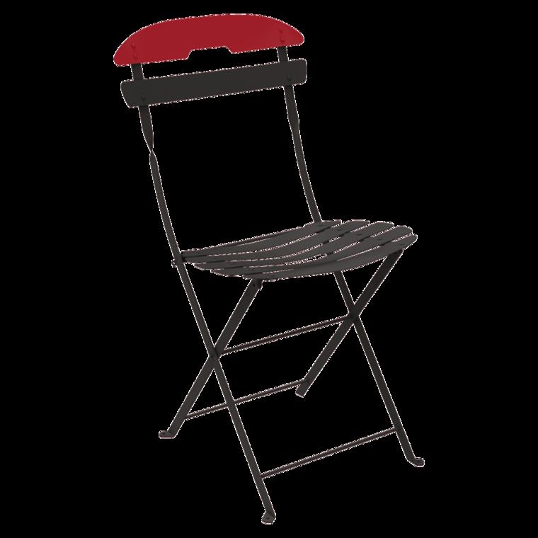 la môme two tone chair foldable metal chair