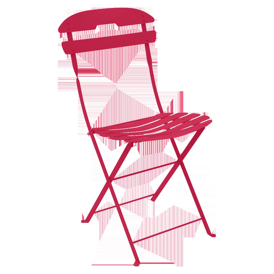 chaise pliante metal, chaise metal, chaise fermob, chaise pliante, chaise rose