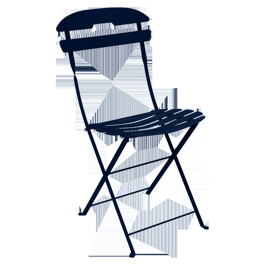 chaise pliante metal, chaise metal, chaise fermob, chaise pliante, chaise bleu