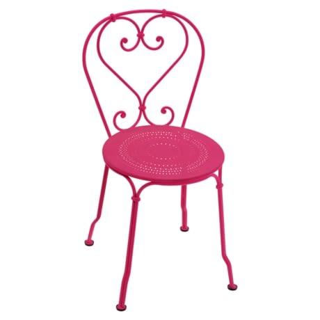 chaise floquée