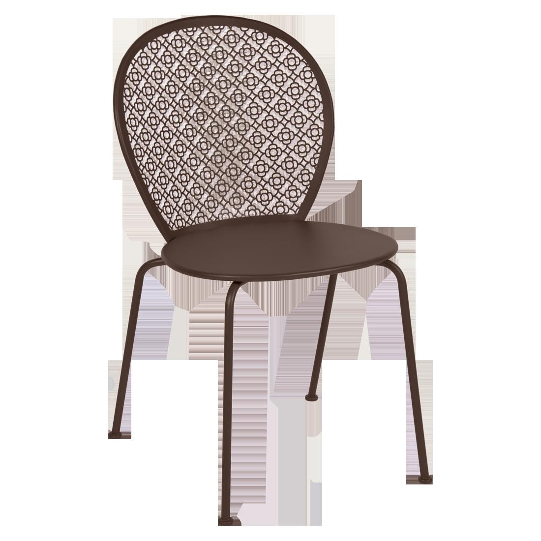chaise lorette rouille