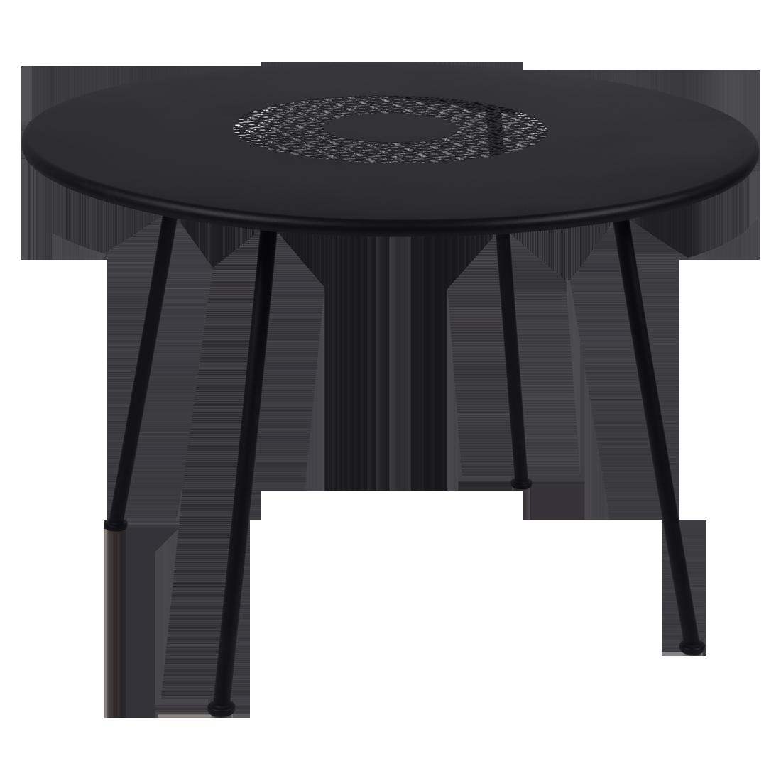Table Ø 110 cm lorette reglisse
