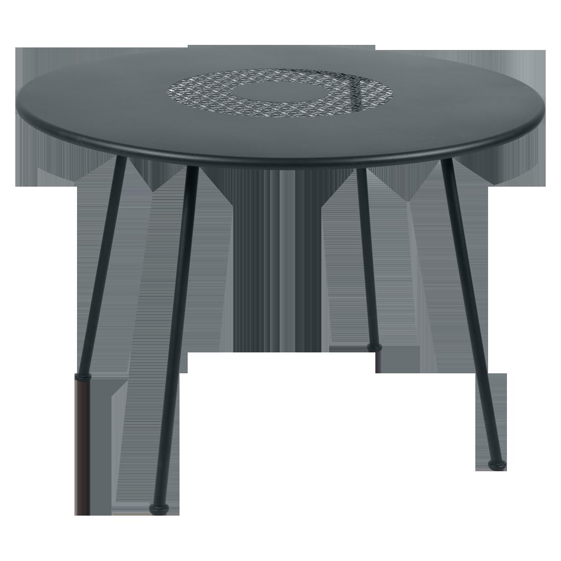 Table Ø 110 cm lorette gris orage