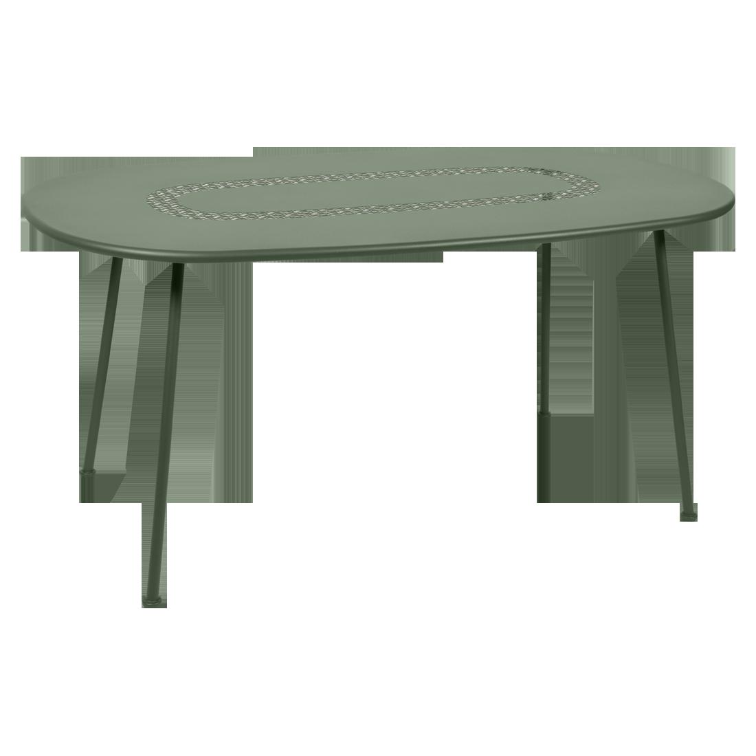 Table Ovale Lorette  cactus