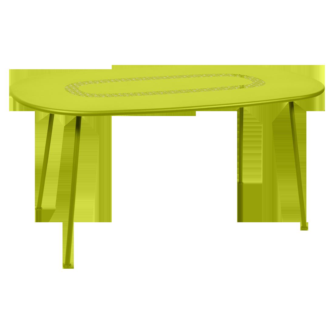 Table ovale Lorette verveine