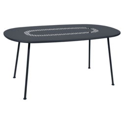Table Ovale Lorette  carbone