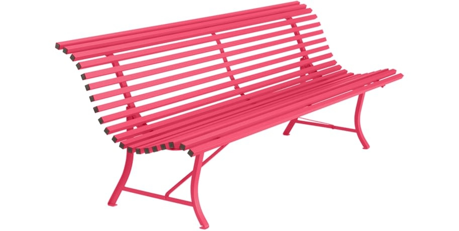 Pink Garden Furniture The furniture fermob banc de jardin banc metal salon de jardin banc rose workwithnaturefo