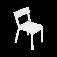chaise enfant, chaise de jardin pour enfant, chaise metal enfant, chaise enfant blanche