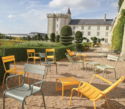 Collection luxembourg fermob mobilier de jardin en m tal for Piscine jardin du luxembourg