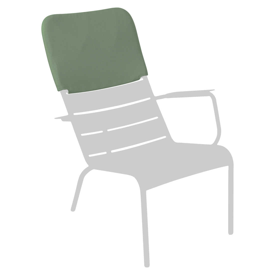 appui-tête fauteuil bas Luxembourg vert