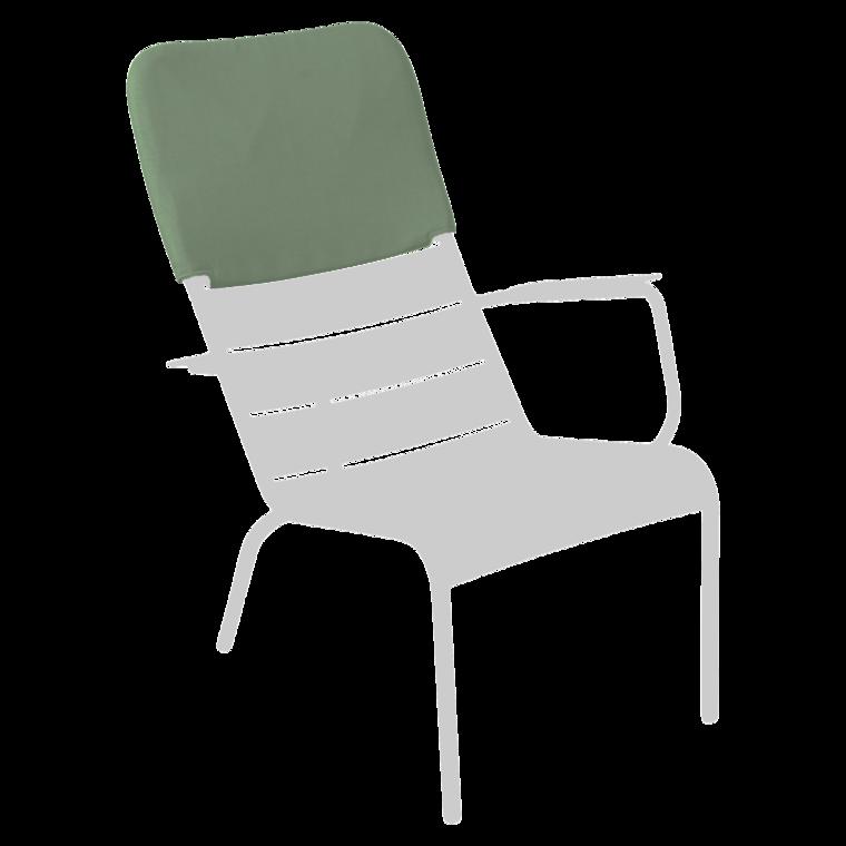 appui-tête fauteuil bas Luxembourg vert