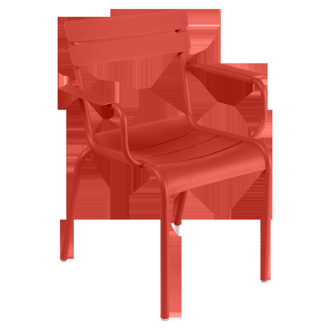fauteuil de terrasse rose