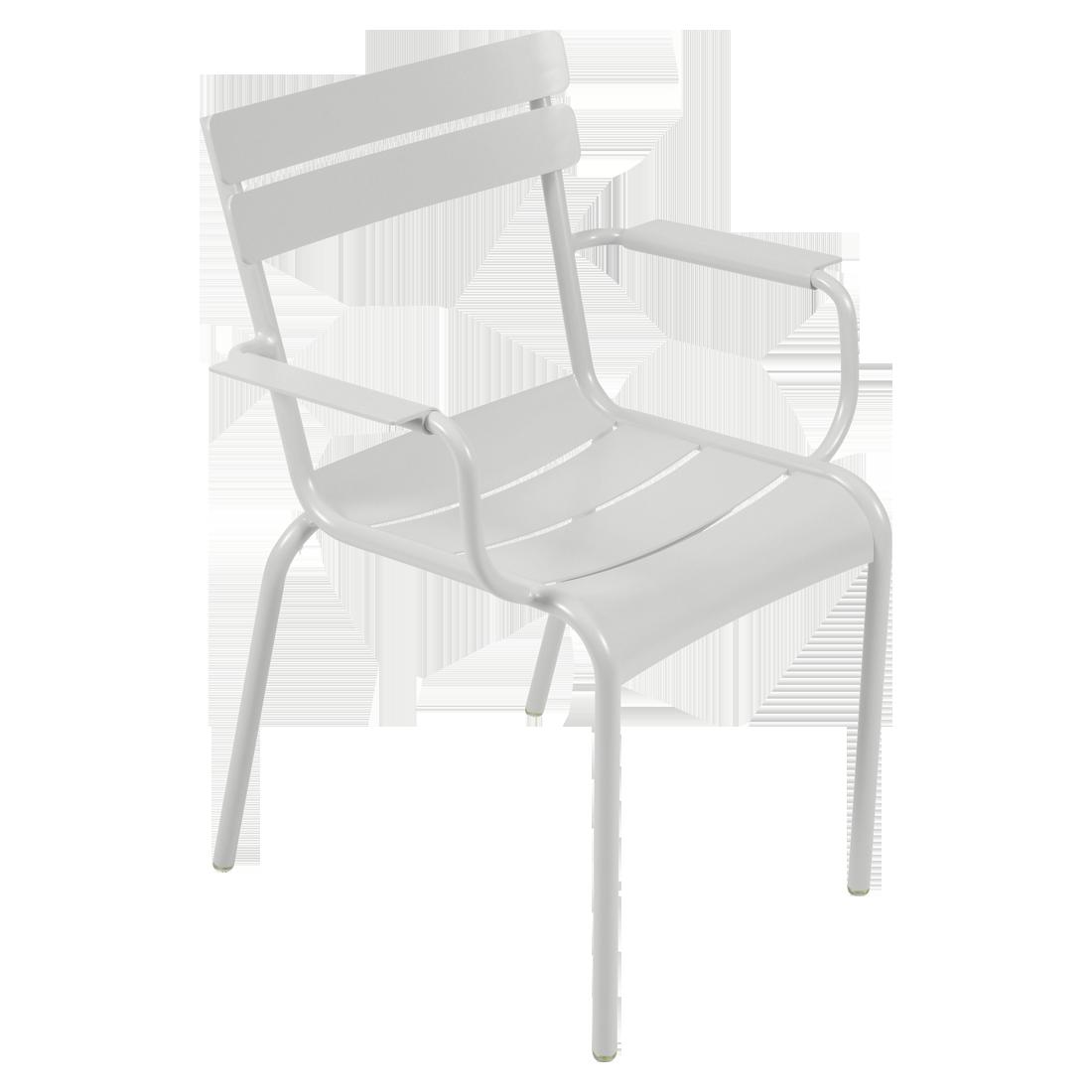 fauteuil de terrasse gris
