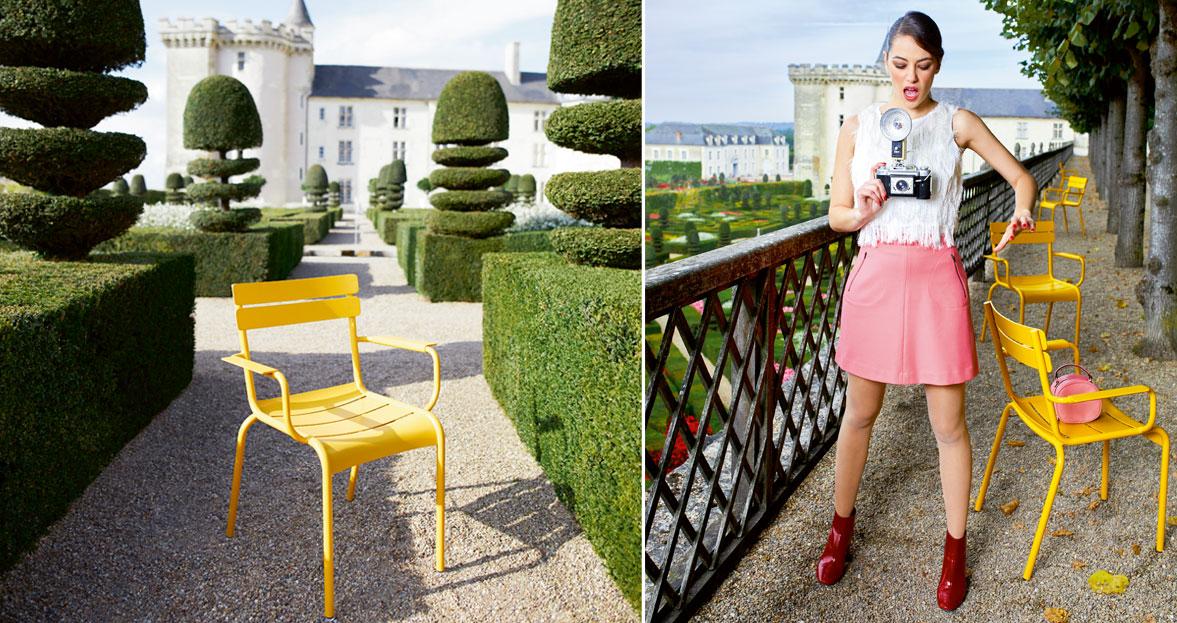 fauteuil luxembourg, fauteuil de jardin, fauteuil metal, chaise metal, luxembourg, chaise fermob