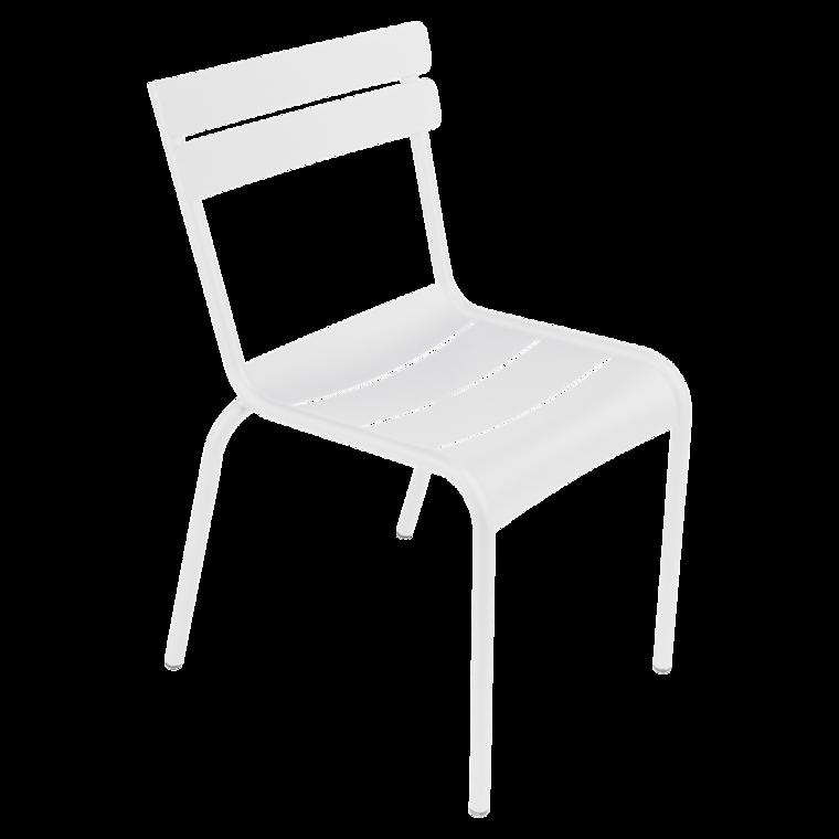 Chaise De Jardin, Chaise Metal, Chaise Fermob, Chaise Terrasse, Chaise  Blanche