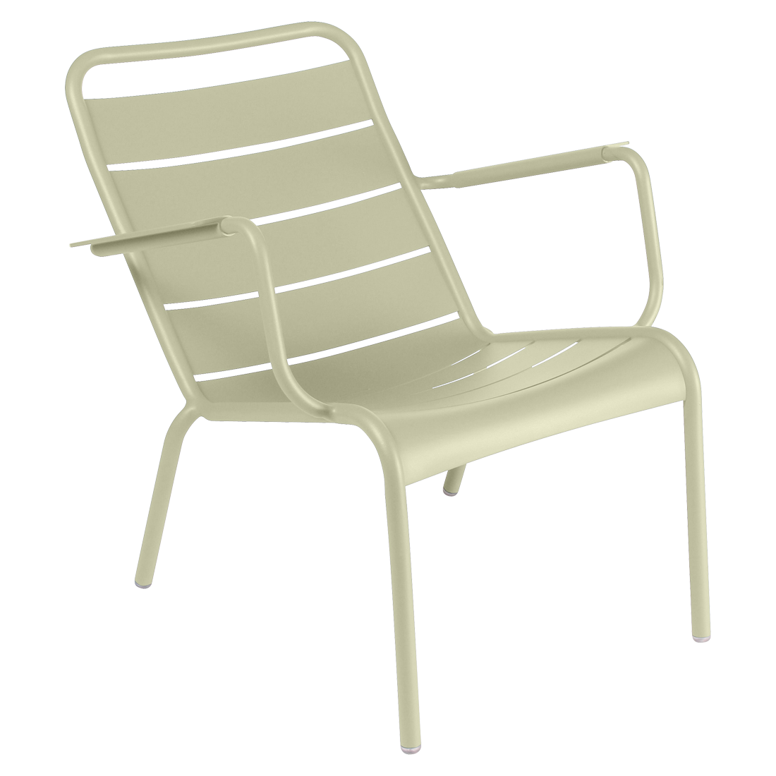 fauteuil luxembourg acier, fauteuil de terrasse, fauteuil terrasse hotel, fauteuil fermob vert