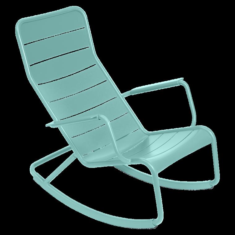 Rocking chair Luxembourg, fauteuil de jardin, salon de jardin