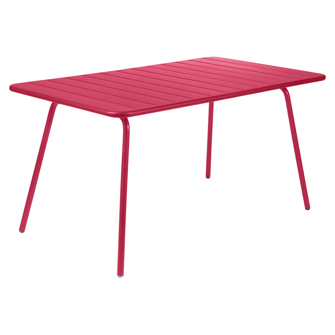 table de jardin, table metal, table fermob, table rose