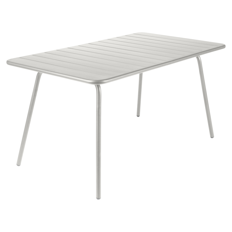 143x80 cm Luxembourg table, outdoor metal table