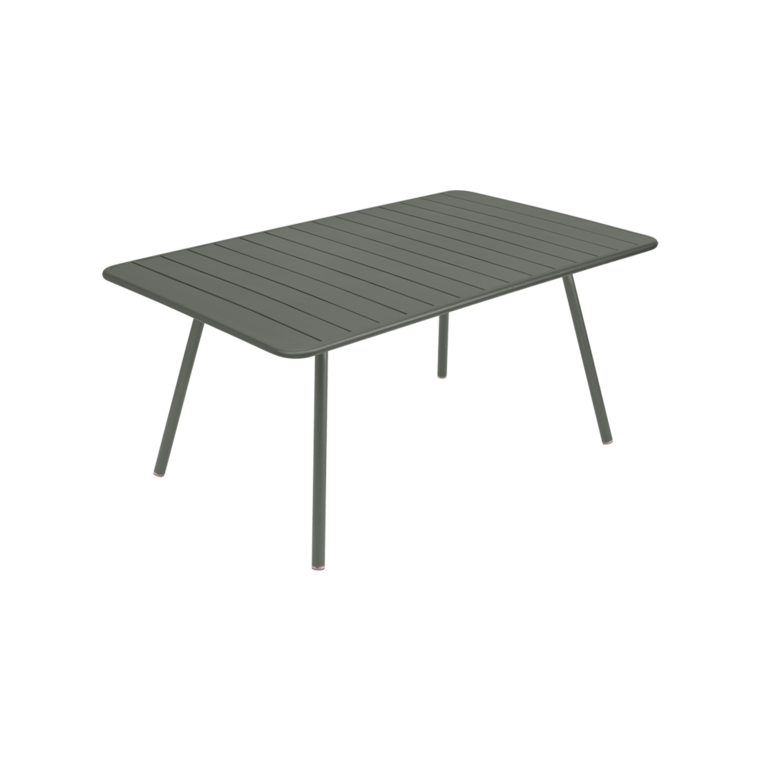 165x80 cm luxembourg table outdoor metal table - Table fermob castorama ...