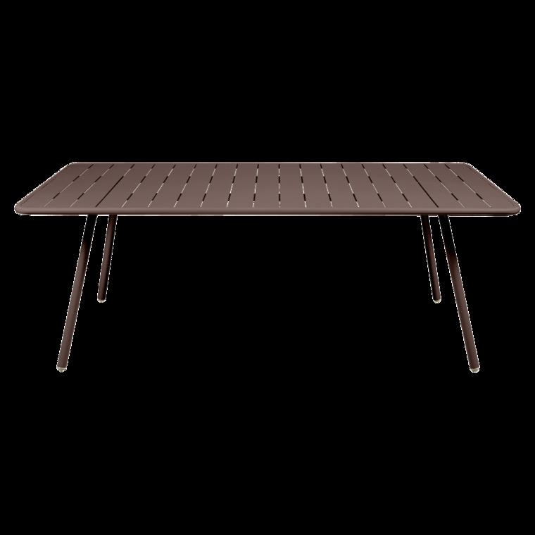 table 207x100 cm luxembourg table de jardin table jardin 8 personnes. Black Bedroom Furniture Sets. Home Design Ideas