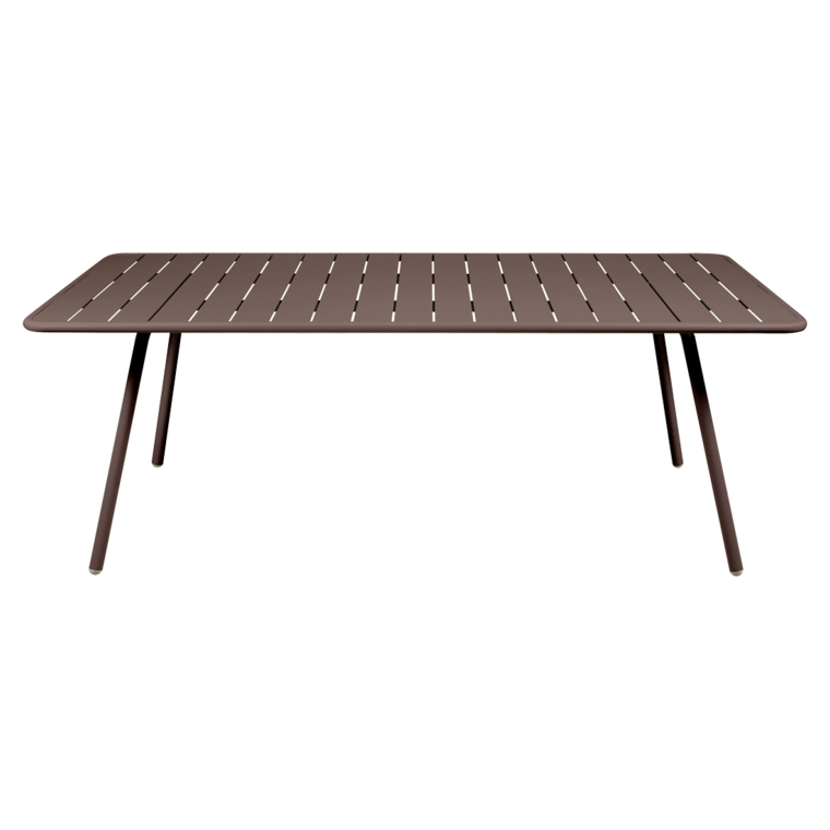 outdoor metal table set wrought iron luxembourg 207x100 cm table outdoor metal table