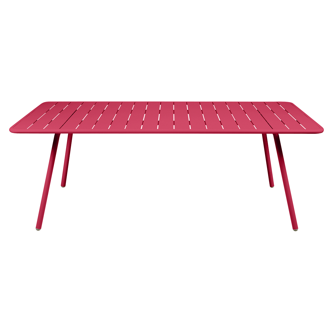 table de jardin, table metal, table fermob, table rose, grande table de jardin, table de jardin rectangulaire