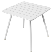 table de jardin, table metal, table 4 places, table blanche, table fermob