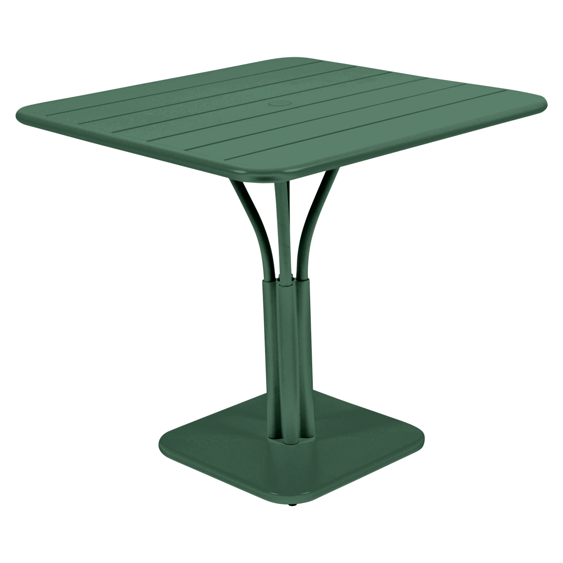 Table 80x80 cm luxembourg table de jardin metal for Fermob table de jardin