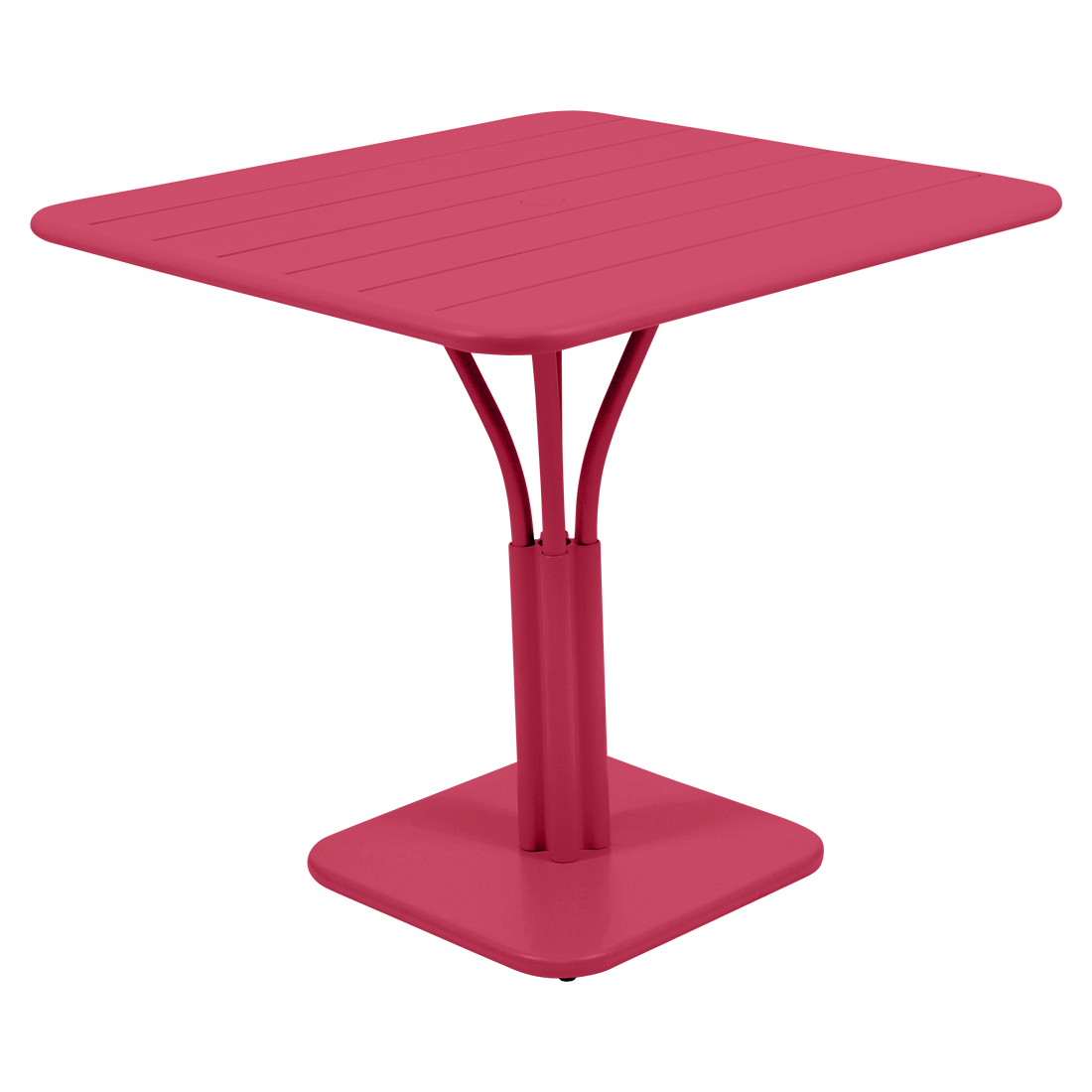 table de jardin, table metal, petite table, table rose
