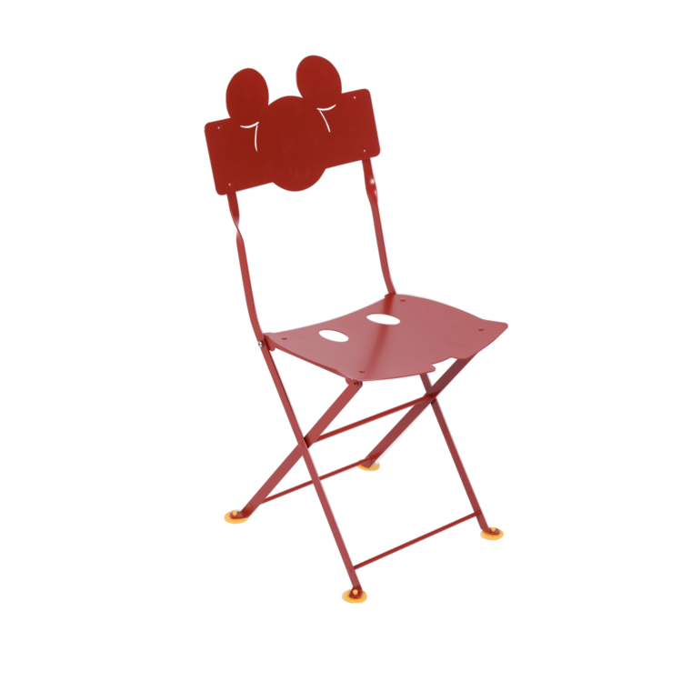 Children S Chair Mickey Mouse Chaise Bistro Enfant Coquelicot