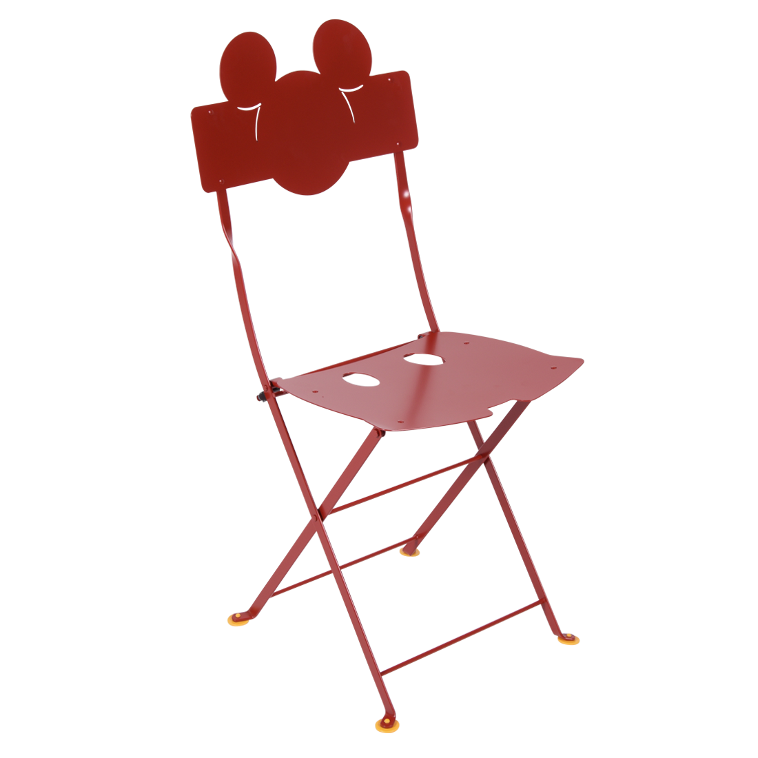 Chaise Mickey MouseC Coquelicot