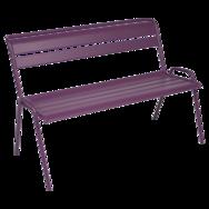 Banc de jardin violet Monceau