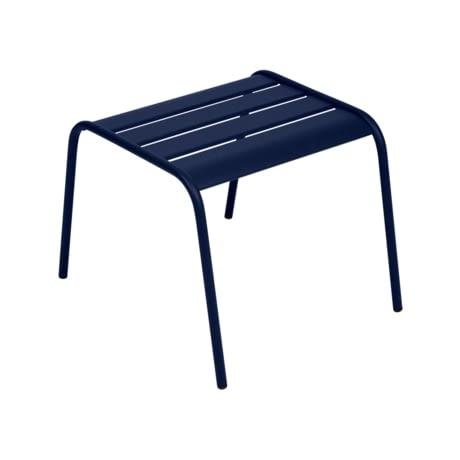 petite table basse, table basse metal, table basse bleu